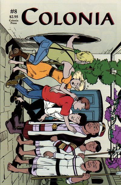 Cover for Colonia (Colonia Press, 1998 series) #8