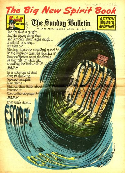 Cover for The Spirit (Register and Tribune Syndicate, 1940 series) #4/13/1947