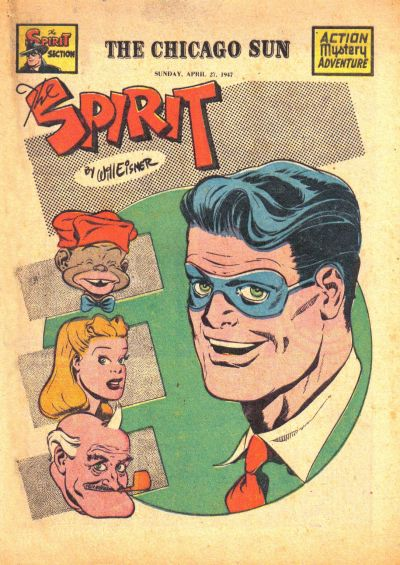 Cover for The Spirit (Register and Tribune Syndicate, 1940 series) #4/27/1947