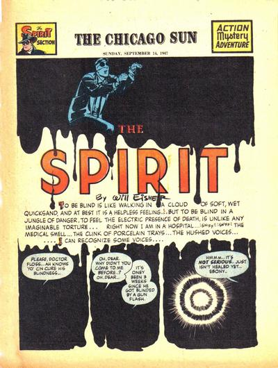Cover for The Spirit (Register and Tribune Syndicate, 1940 series) #9/14/1947