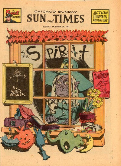 Cover for The Spirit (Register and Tribune Syndicate, 1940 series) #10/26/1947