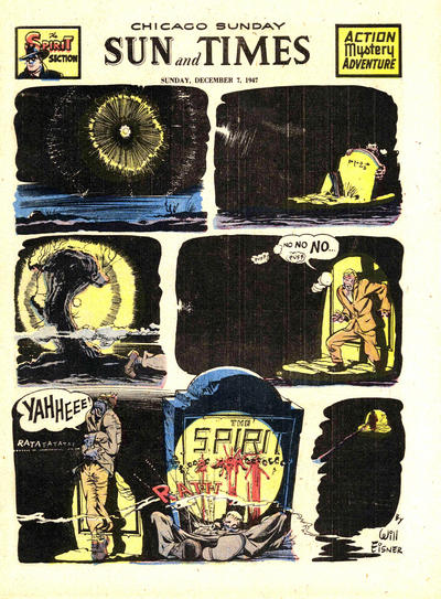 Cover for The Spirit (Register and Tribune Syndicate, 1940 series) #12/7/1947