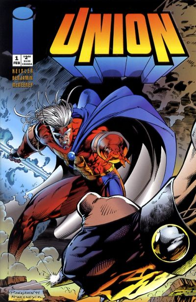Cover for Union (Image, 1995 series) #1