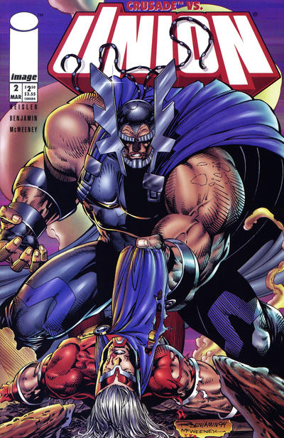 Cover for Union (Image, 1995 series) #2