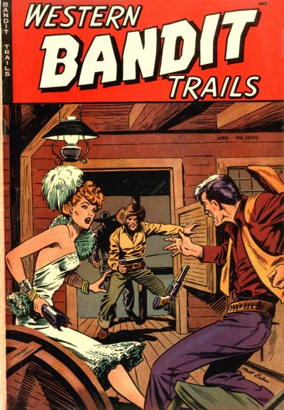 Cover for Western Bandit Trails (St. John, 1949 series) #2