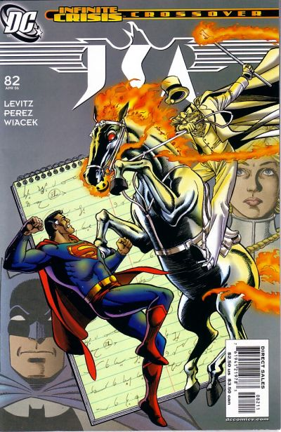 Cover for JSA (DC, 1999 series) #82