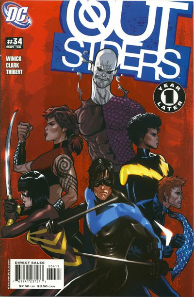 Cover for Outsiders (DC, 2003 series) #34