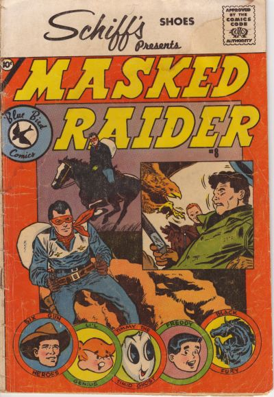 Cover for Masked Raider (Charlton, 1959 series) #8