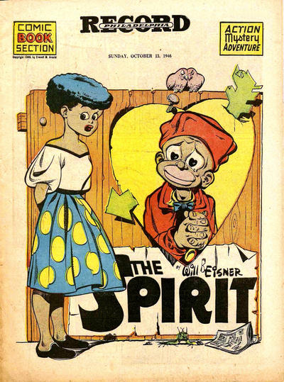 Cover for The Spirit (Register and Tribune Syndicate, 1940 series) #10/13/1946