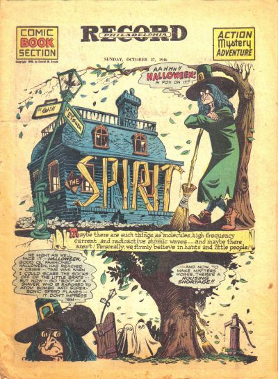 Cover for The Spirit (Register and Tribune Syndicate, 1940 series) #10/27/1946
