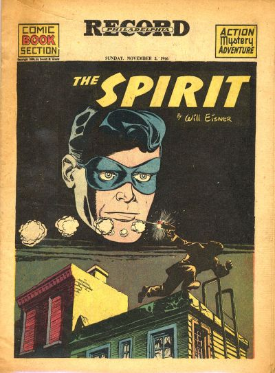 Cover for The Spirit (Register and Tribune Syndicate, 1940 series) #11/3/1946
