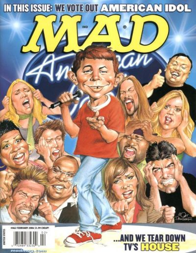 Cover for MAD (EC, 1952 series) #462