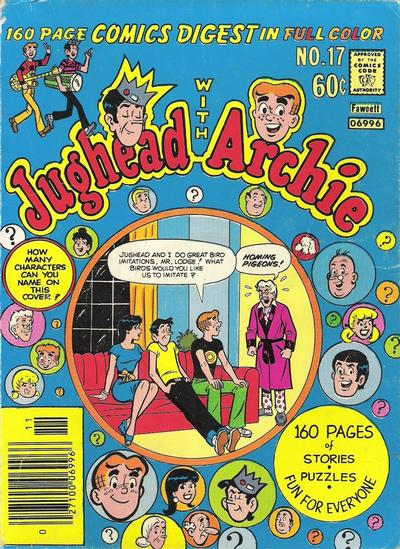 Cover for Jughead with Archie Digest (Archie, 1974 series) #17