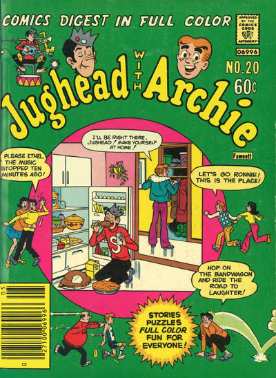 Cover for Jughead with Archie Digest (Archie, 1974 series) #20