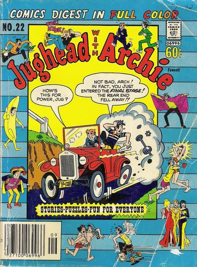 Cover for Jughead with Archie Digest (Archie, 1974 series) #22