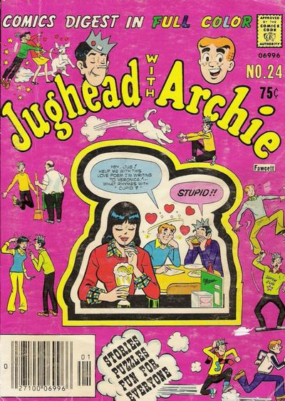 Cover for Jughead with Archie Digest (Archie, 1974 series) #24