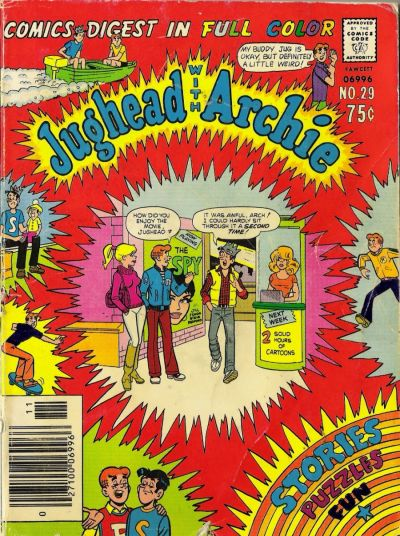 Cover for Jughead with Archie Digest (Archie, 1974 series) #29
