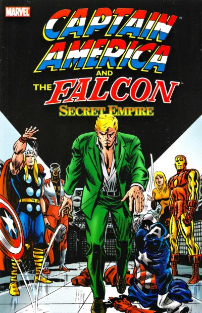 Cover for Captain America & The Falcon: Secret Empire (Marvel, 2005 series) #[nn]