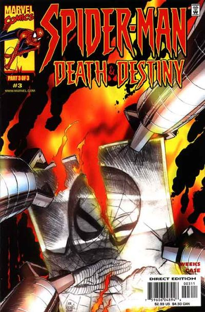 Cover for Spider-Man: Death and Destiny (Marvel, 2000 series) #3