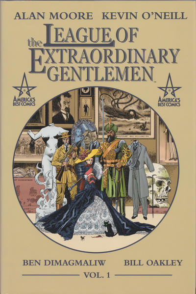 Cover for The League of Extraordinary Gentlemen (DC, 2000 series) #1