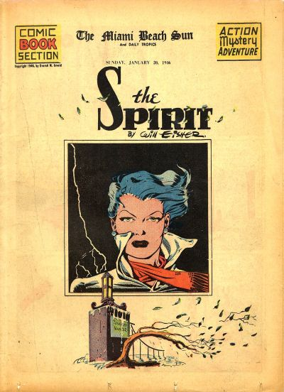 Cover for The Spirit (Register and Tribune Syndicate, 1940 series) #1/20/1946