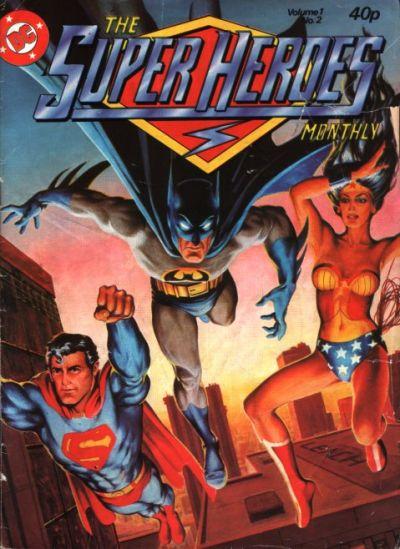 Cover for The Super Heroes (Egmont UK, 1980 series) #v1#2