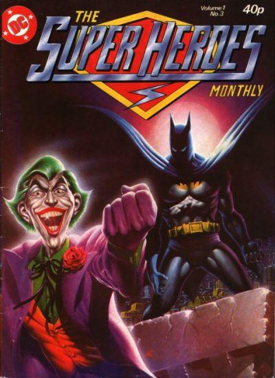 Cover for The Super Heroes (Egmont UK, 1980 series) #v1#3