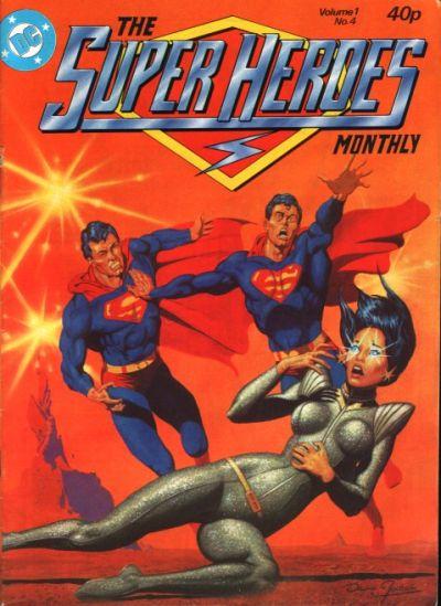 Cover for The Super Heroes (Egmont UK, 1980 series) #v1#4