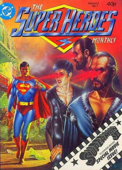 Cover for The Super Heroes (Egmont UK, 1980 series) #v1#7