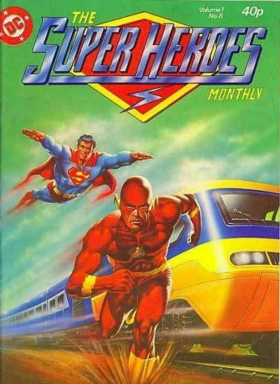 Cover for The Super Heroes (Egmont UK, 1980 series) #v1#8