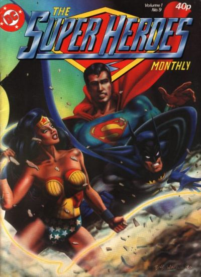 Cover for The Super Heroes (Egmont UK, 1980 series) #v1#9
