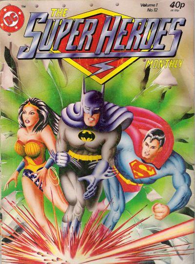 Cover for The Super Heroes (Egmont UK, 1980 series) #v1#12
