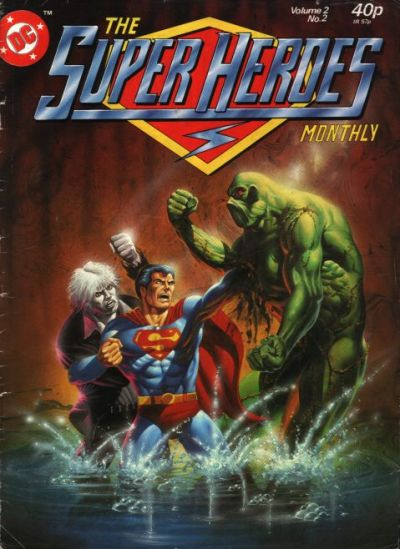 Cover for The Super Heroes (Egmont UK, 1980 series) #v2#2
