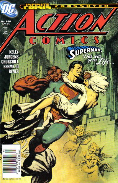 Cover for Action Comics (DC, 1938 series) #836