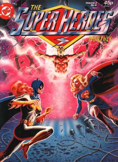 Cover for The Super Heroes (Egmont UK, 1980 series) #v2#4