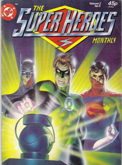 Cover for The Super Heroes (Egmont UK, 1980 series) #v2#5