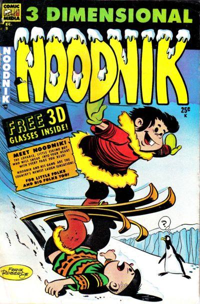 Cover for Noodnik (Comic Media, 1953 series) #1