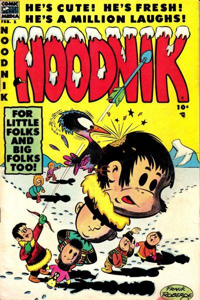 Cover for Noodnik (Comic Media, 1953 series) #2