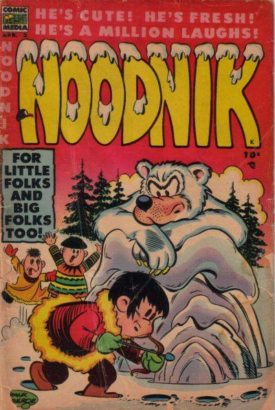 Cover for Noodnik (Comic Media, 1953 series) #3