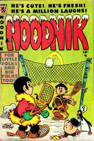 Cover for Noodnik (Comic Media, 1953 series) #4