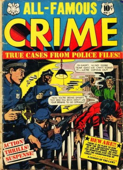 Cover for All-Famous Crime (Star Publications, 1951 series) #5