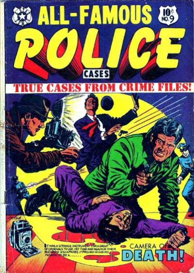 Cover for All-Famous Police Cases (Star Publications, 1952 series) #9