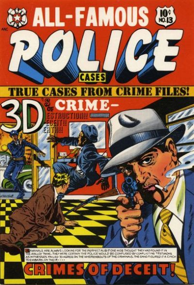 Cover for All-Famous Police Cases (Star Publications, 1952 series) #13