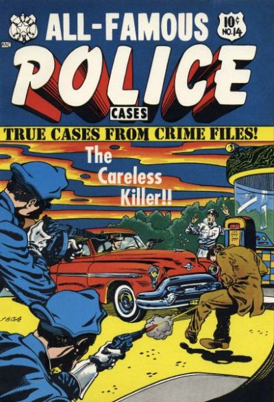 Cover for All-Famous Police Cases (Star Publications, 1952 series) #14