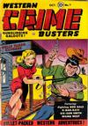 Cover for Western Crime Busters (Trojan Magazines, 1950 series) #7