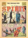 Cover for The Spirit (Register and Tribune Syndicate, 1940 series) #4/8/1945