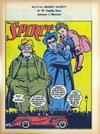 Cover for The Spirit (Register and Tribune Syndicate, 1940 series) #1/14/1945 [Mutual Benefit Society]