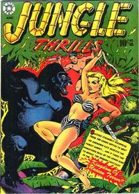 Cover Thumbnail for Jungle Thrills (Star Publications, 1952 series) #16