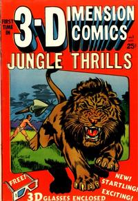 Cover Thumbnail for Jungle Thrills 3-D (Star Publications, 1953 series) #1