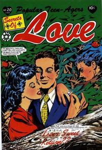 Cover Thumbnail for Popular Teen-Agers (Star Publications, 1950 series) #20